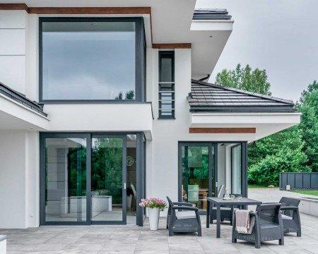 Okna vetrex dom jednorodzinny
