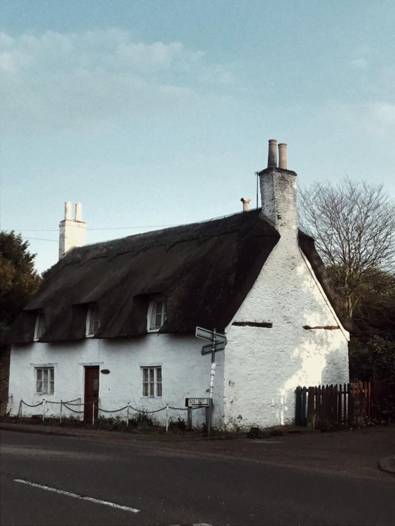 Dom zoknami starego typu